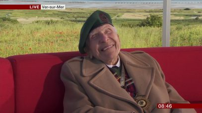D-Day75: veteran Harry Billinge on D-Day and real heroes (06June19)