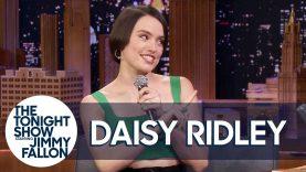Daisy Ridley raps