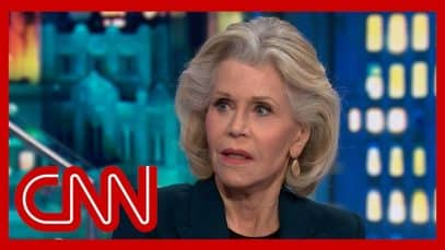 Jane Fonda on CNN