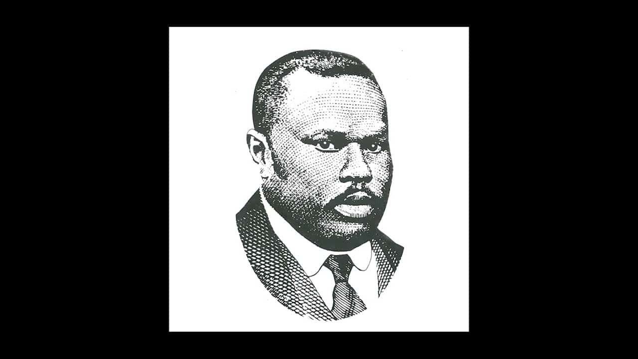 Marcus Garvey delivers explosive speech.