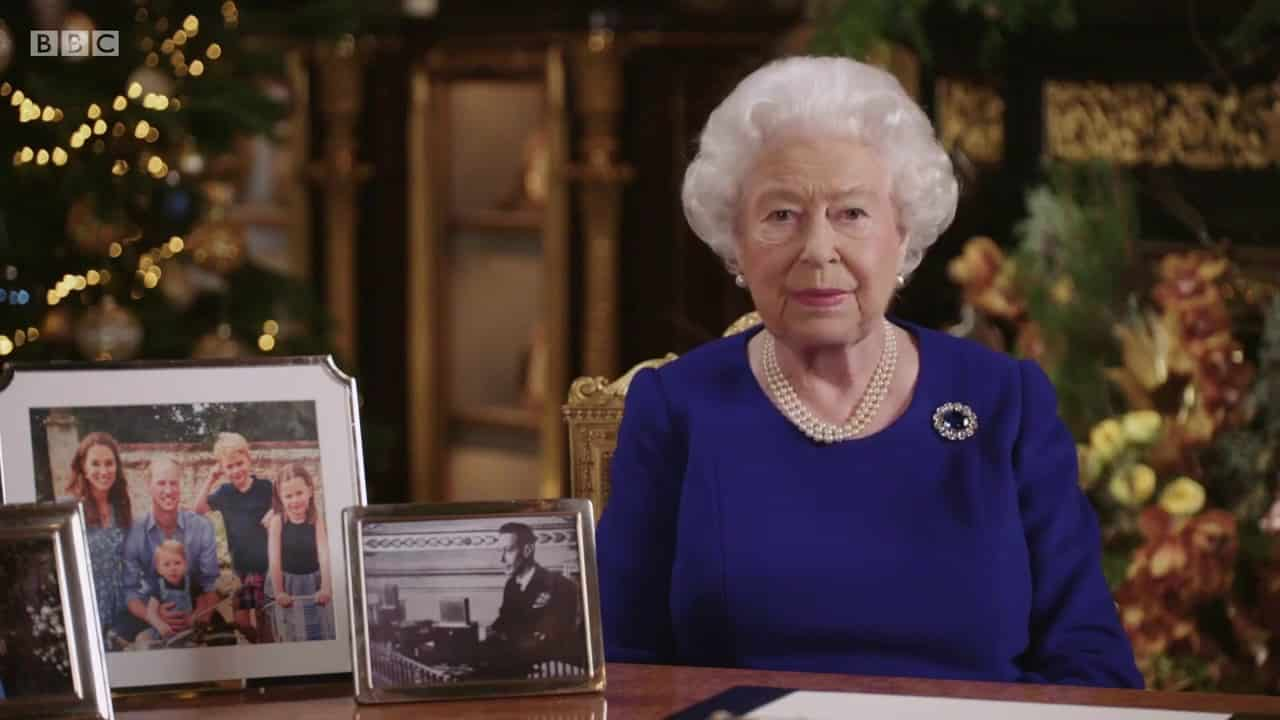 Queens Christmas message.