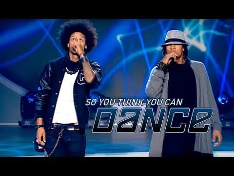 Les Twin on SYTYCD Ukraine [filmed 2012]