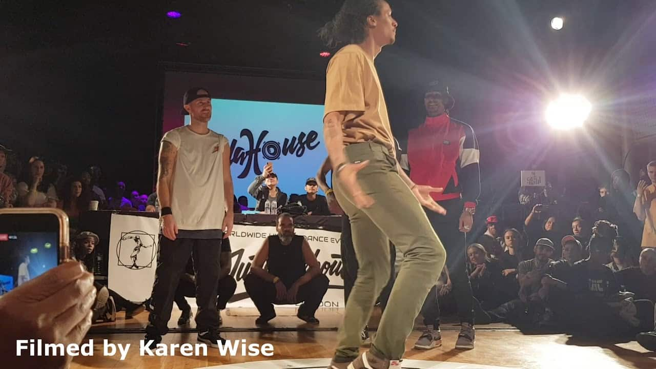 JUSTE DEBOUT UK LONDON PRELIMS 2020 | Judges Demo | Laurent Bourgeois (Les Twins)