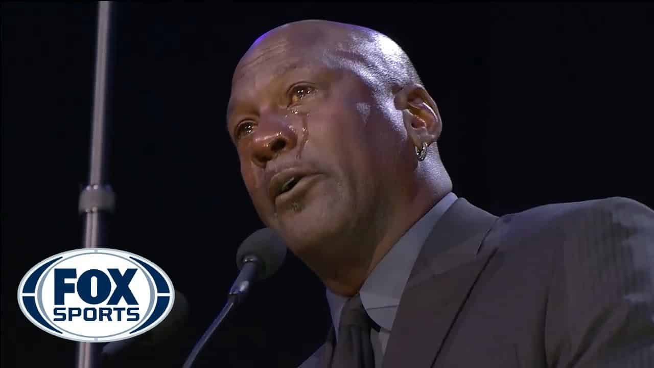 Michael Jordan gives an emotional speech at Celebration of Kobe and Gianna Bryant | FOX SPORTS