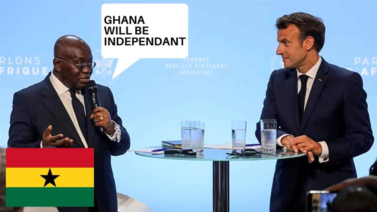 Ghanaian President gives speech on future for Ghana.