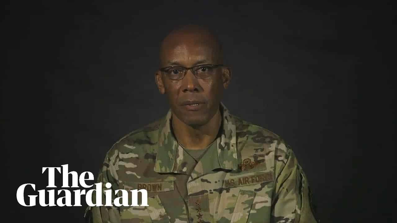 African-American air force General reacts to Floyd protests