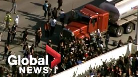 George-Floyd-protests-Tanker-truck-drives-towards-thousands-of-protesters-on-bridge-in-Minneapolis-attachment