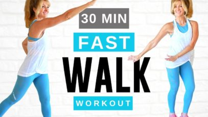 30 Minute LOSE WEIGHT Indoor Walking Workout For Women Over 50!