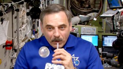 What Happens to Water in Space?