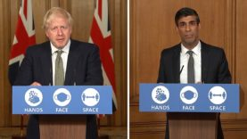 Boris Johnson and Rishi Sunak lay out plans for new lockdown