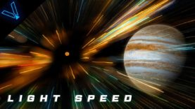 Journey Through The Universe At The Speed Of Light (4K UHD)