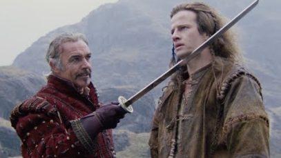 Sean Connery, Christopher Lambert ~ Highlander (1986) – 'Training Montage' scene