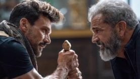 Mel Gibson, Frank Grillo Filming Boss Level