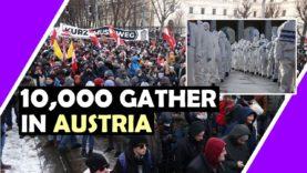 Lockdown response in Austria