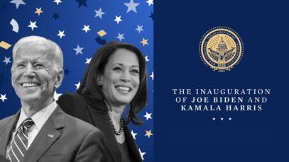 The inauguration of Joe Biden and Kamala Harris