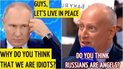 Putin speaks out.