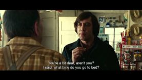 No Country For Old Men – Coin toss scene