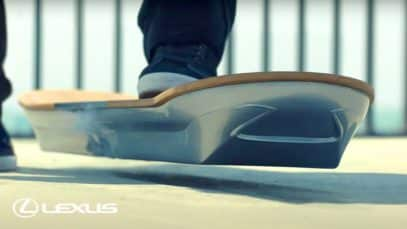 The Lexus Hoverboard: The Story
